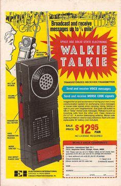 Space Age Walkie Talkie