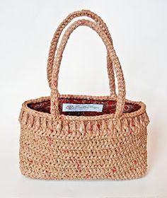 Basic Plarn Tote - AllFreeCrochet.com - Free Crochet