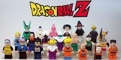 anim, balls, stuff, dragons, dragon ball, brick, dbz lego, legos, dragonbal