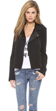 BB Dakota Juliette Moto Jacket