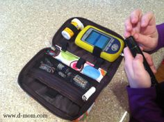 Sugar Medical Supply diabetes supply pouch. Fits most blood glucose meters (and even the OmniPod PDM).