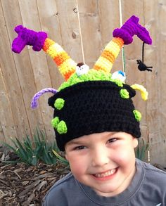 Ravelry: Witch's Brew pattern by Heidi Yates crochet hat, crochet witch hat, witch brew, patterns, brew pattern, heidi yate, crochet pattern, ravelry, witches brew
