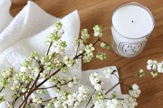 fall favorites // snowberries and scented candles