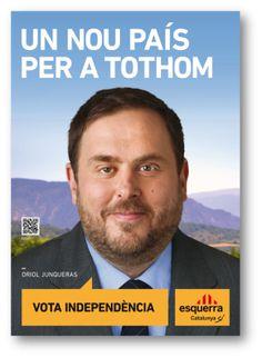 Esquerra Republicana de Catalunya. Cartell electoral: catalanes 2012