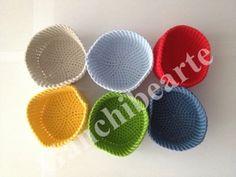 Ganchibearte: Mis posavasos de crochet