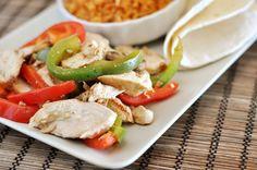 The Best Chicken Fajitas
