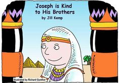 Joseph Is Kind To His Brothers printable book... lots of Bible printable books!