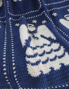 Maggie's Crochet · Angel Afghan Crochet Pattern #crochet #pattern #afghan #seasonal #angel #holiday #Christmas #religious #spiritual