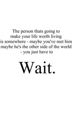 The Person That's Going