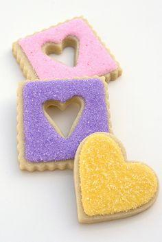 Sugar Heart Cookies