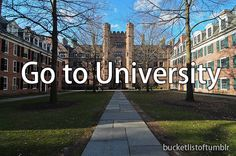 Done! #Bucket #List #University