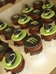 monster cupcak, birthday parties, birthday idea, parti idea