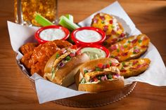 I love @Chilis Triple Dipper with Blackened Chicken Sliders--they're so intense!