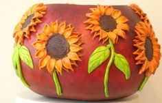 A beautifully crafted bowl made from a large dry bushel gourd