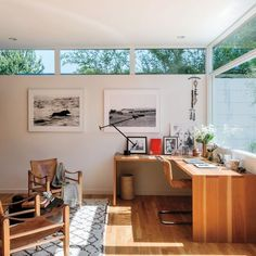 mid-century modern house in los angeles on martha stewart.