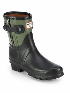 Hunter Bicolor Rag & Bone Short Rain Boots