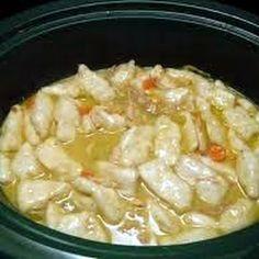 Crockpot Chicken and Dumplings