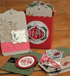 Great Hostess Gift Stampin' Up! Tags
