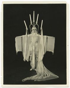 Alfred Cheney Johnston / Martha Pierre as Candlelight, 1921