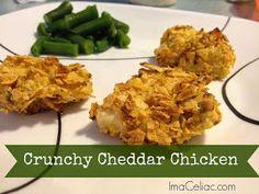 I'm A Celiac: Crunchy Cheddar Chicken Nuggets