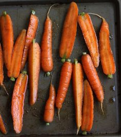 The Cilantropist: On the side, Spice Roasted Carrots