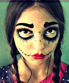 Creepy Doll - Halloween Costume Contest via @costumeworks