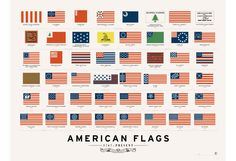 Pop Chart Lab --> Design + Data = Delight --> American Flags