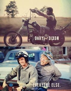 Daryl Dixon ~ The Walking Dead- Haley you and I are dumb and dumber! lol