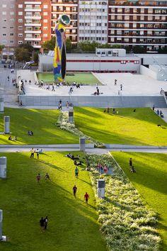 Parque Joan Miró - Barcelona, Spain