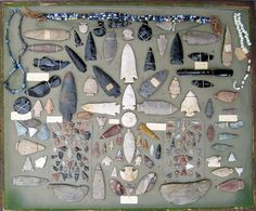 Ancient Indian Artifacts   Ancient Native American Indian Artifacts, Relics and Arrowheads ...