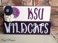 Kansas State University (KSU) Wildcats on Etsy, $25.00