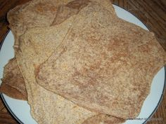 Recipe Clean Eating #57: Whole Wheat Tortillas by 365 Days of Clean Eating - Petit Chef