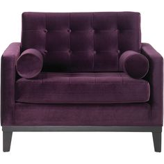 Armen Living Centennial Purple Chair