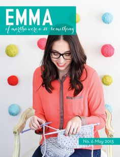 Emma magazine may/2013 #craft #DIY #design #printable #StyleTips
