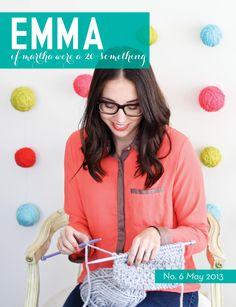 Emma magazine may/2013 #craft #DIY #design #printable #StyleTips