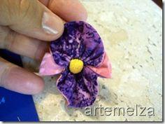 artemelza - fuxico orquídea dupla
