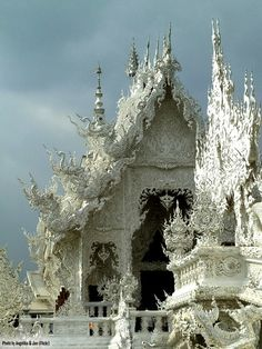 beautiful snow queen, temples, ice queen, ice castles, palaces, thailand, white, architecture, place