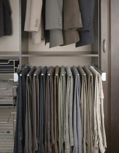 """Pants Hangers from """"Control the Clutter: Hangers, etc."""""""