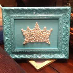 lovemylittle:    Pearl craft! So cute in your sorority logo <3Spread glue in the shape that you want, and sprinkle craft pearls on top of the glue, use a toothpick or tweezers to move strays into place and let dry! top with a coat of sealer or glue to get in between the pearls.