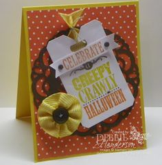 Create with Connie & Mary #266. Stampin' Up! Halloween Bash by Debbie Henderson, Debbie's Designs.