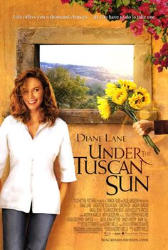 Under The Tuscan Sun. Such a wonderful story :)