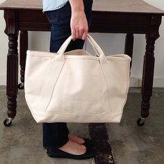 Deluxe canvas boat totes — new at Fringe Supply Co.