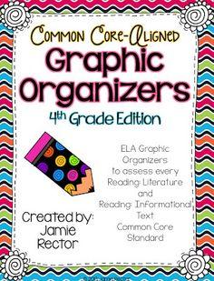 4th Grade Common Core Graphic Organizers