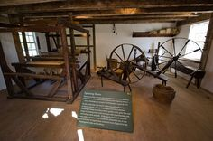 Mount Vernon Spinning Room