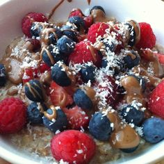 Delicious and voluminous egg white oats!