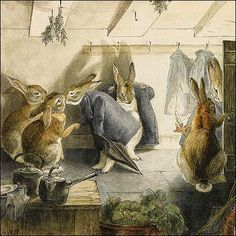 """The Daily Glean: Beatrix Potter and the """"world of realism and romance"""""""