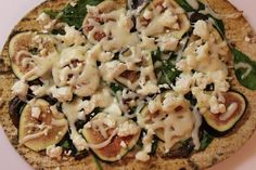 Caramelized Onion, Fig and Goat Cheese Pizza
