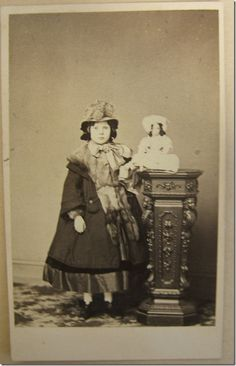 Civil War Child- WOW what a coat and trimmings and doll...1861
