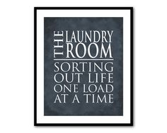 Laundry Room Wall Art  The Laundry Room  by SusanNewberryDesigns, $15.00