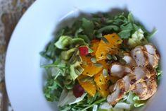 Chicken Citrus Salad - Danielle Walker's Against All Grain